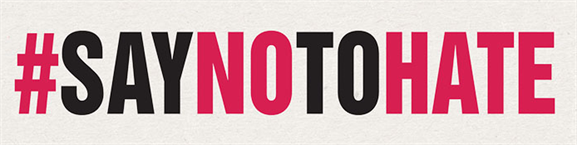 Say-No-To-Hate campaign