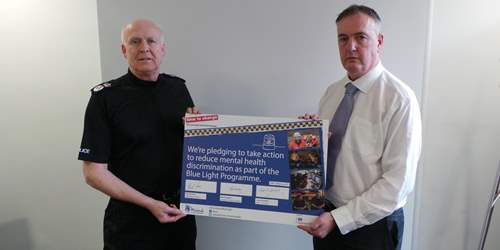 Lancashire Police leaders pledge to end mental health stigma and discrimination at work