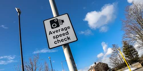 Average speed cameras to be enforced – A675 Belmont