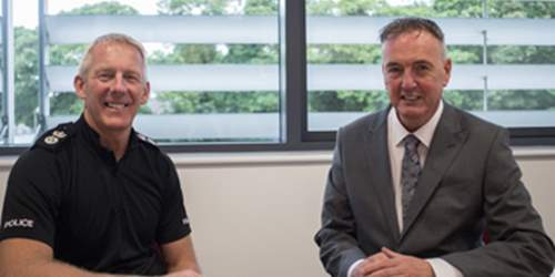 Commissioner welcomes new Chief Constable