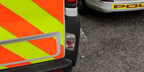 Two injured in Bamber Bridge collision