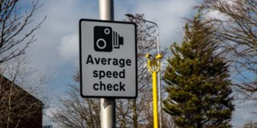 Average speed cameras to be enforced – A59 Brockholes Brow