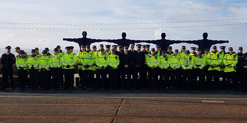 Service honours Blackpool Officers
