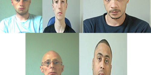 Five men sentenced as part of Operation Warrior