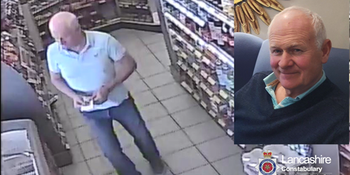 CCTV appeal as search for John Cowley continues