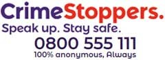 CrimeStoppers - Speak up. Stay safe.