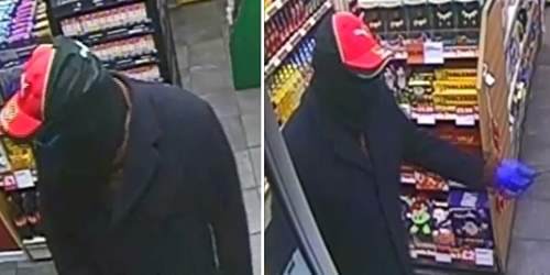 Knifepoint robbery at Morecambe garage