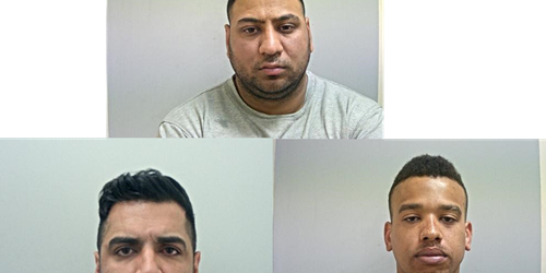 Three men convicted of firearms offences