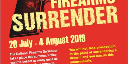 Firearms Surrender 2019