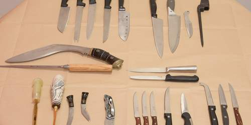 Knife crime week of action - results