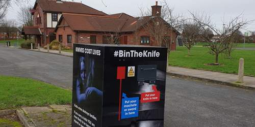 New safe places to bin unwanted knives