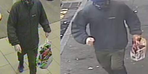 Detectives release images of bookmakers robbery suspect
