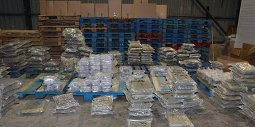 Police uncover drugs operation with estimated street value of £4.5million in Oswaldtwistle warehouse