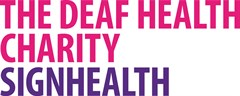 Signhealth The Deaf Health Charity Logo