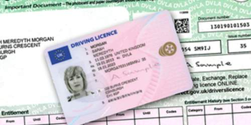 Driving licence changes
